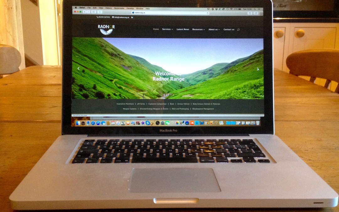 Radnor Range – New Responsive Website